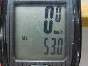 最高速度53km/h