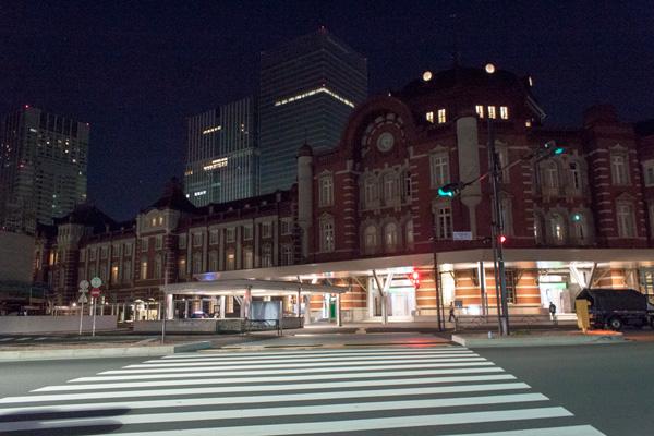 東京駅@5時撮影