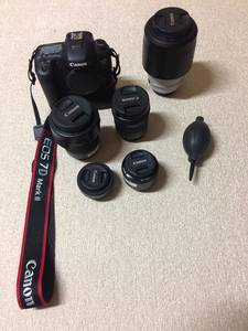 カメラ本体とレンズ