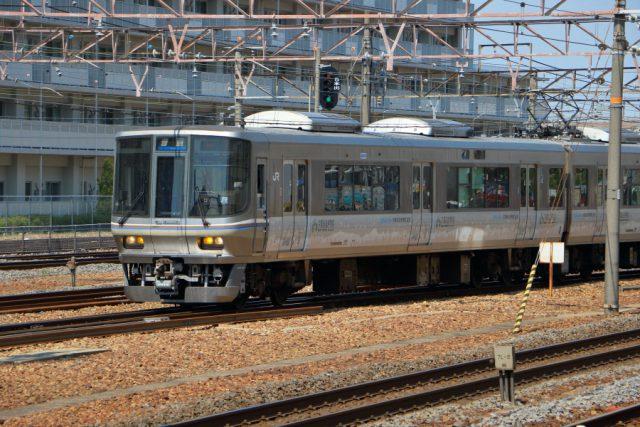 223系京都鉄道博物館ラッピング
