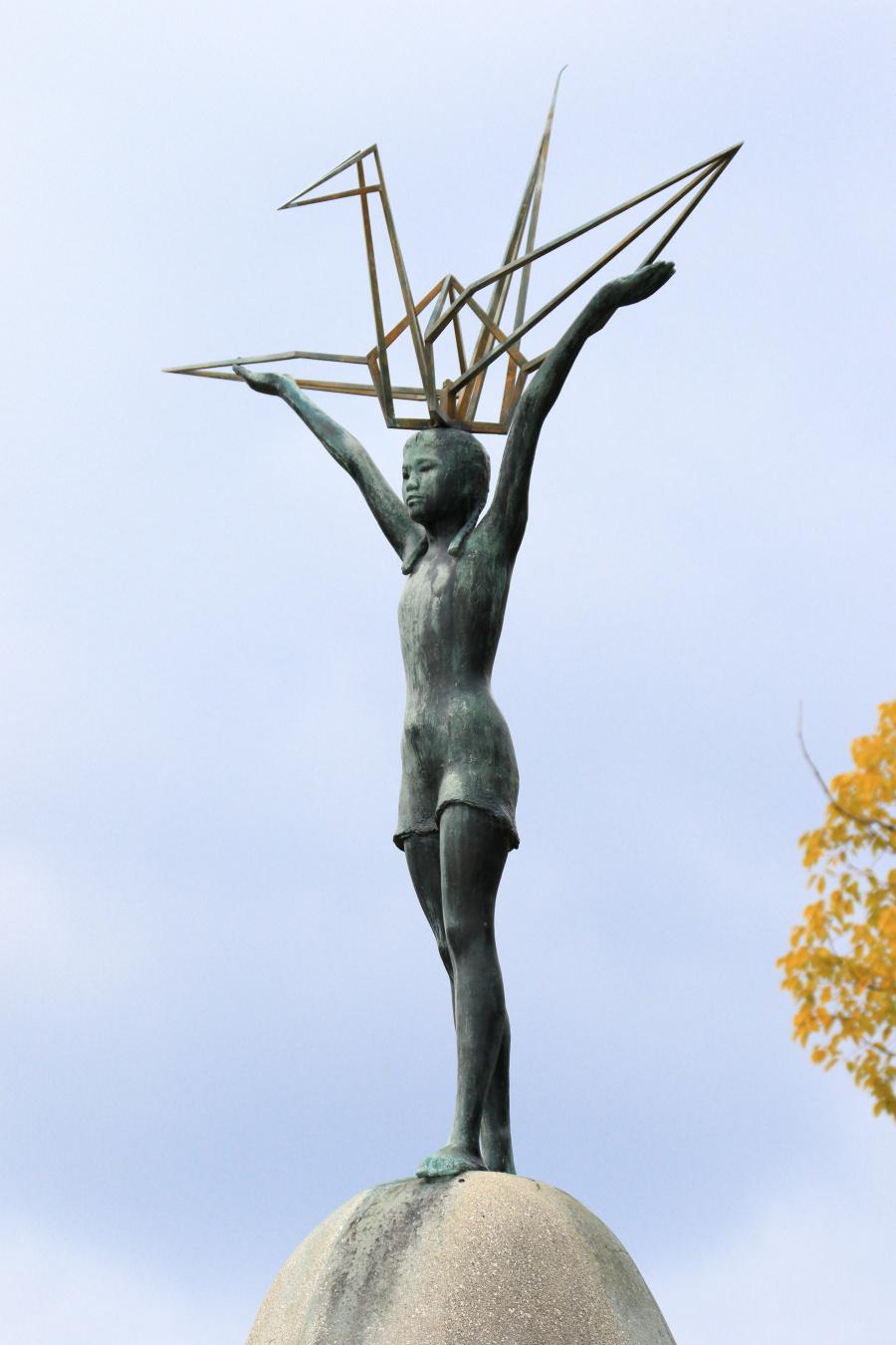 佐々木禎子の像