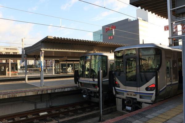 姫路駅の風景
