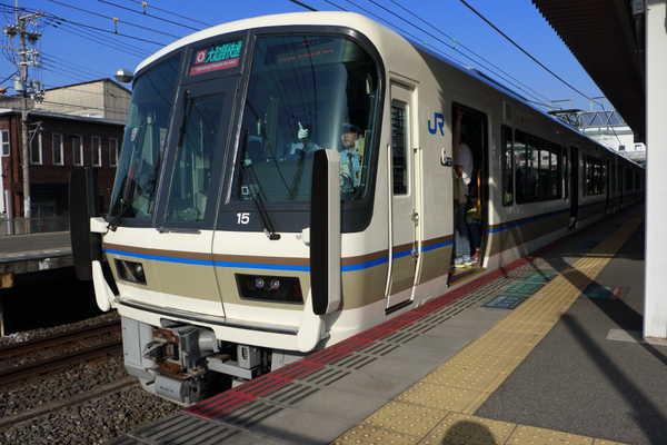 久宝寺駅で221系