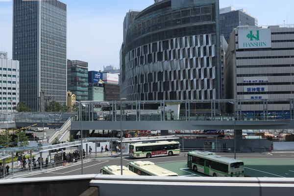 大阪駅の風景