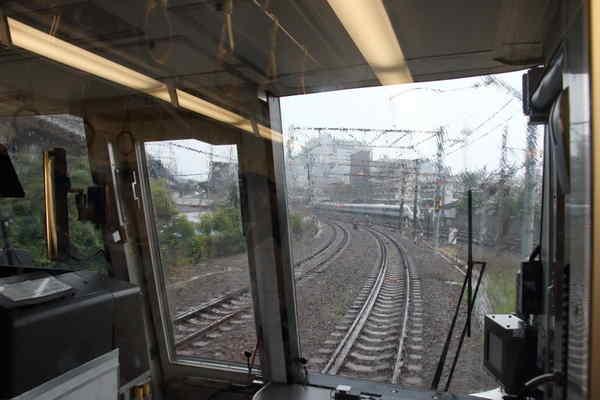 京都駅到着前