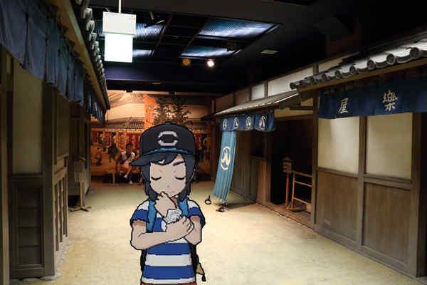 名古屋城内部