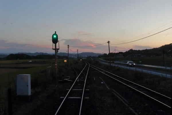 関西本線佐那具駅付近