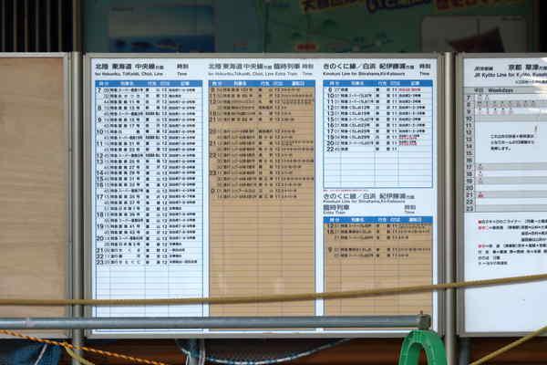 新大阪駅何時の?時刻表