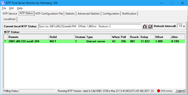 Windows-ntpd-monitor