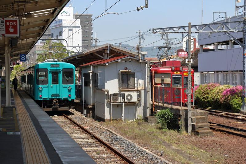 和歌山線105系と和歌山電鐵2270系おもちゃ電車