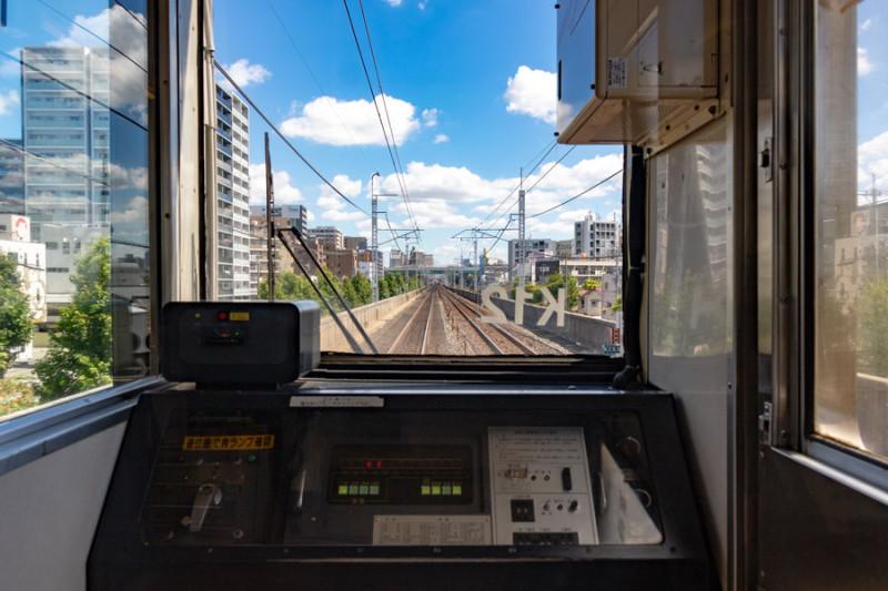 金山→鶴舞駅間