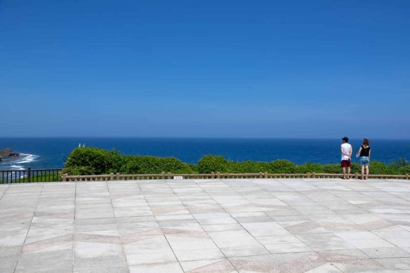 沖縄戦跡国定公園から見える太平洋
